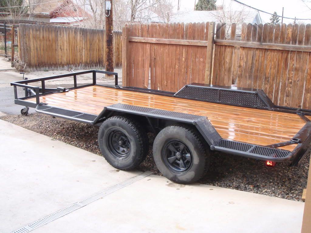 trailer rebuild fab ideas pinterest wheels
