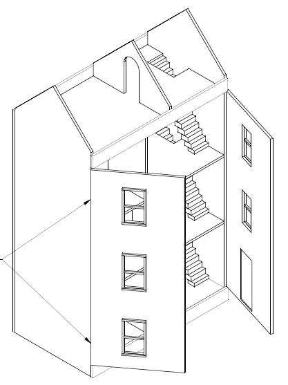 Voorkeur poppenhuis maken | Bouwtekening | Pinterest #ZU82