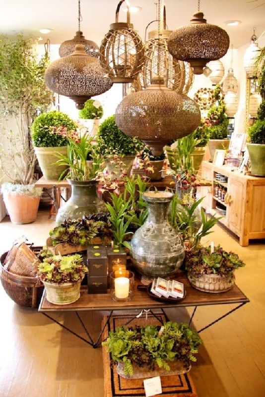 Awesome Florist Shop Design and Decor Ideas 27 Negozi di