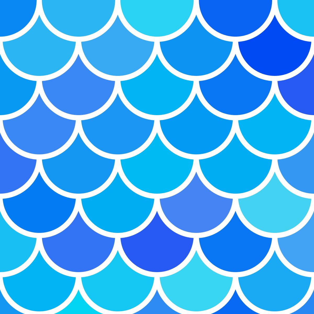Mermaid Scales Pattern And Digital Paper Fish Scales Pattern Round Tiles Digitalpaper Fish Scale Pattern Paper Fish Mermaid Scales