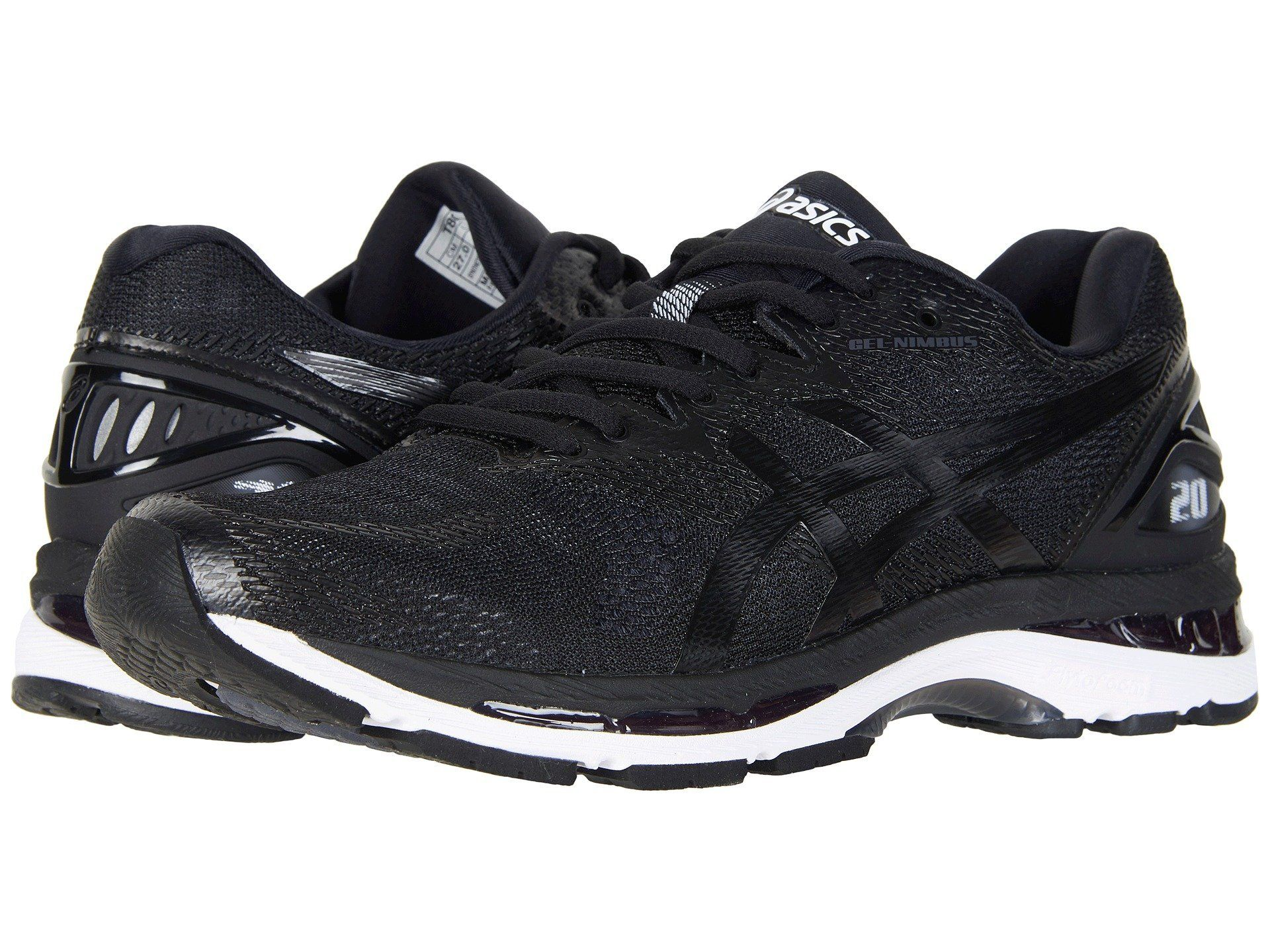 ASICS Gel-Nimbus 20 Men   Black   White   Carbon (T800N-9001 ... 62262f40b8dd
