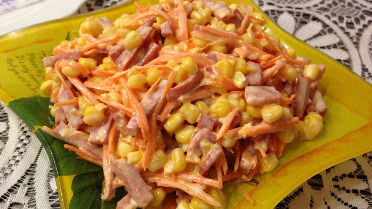 Салат на скорую руку рецепт с фото