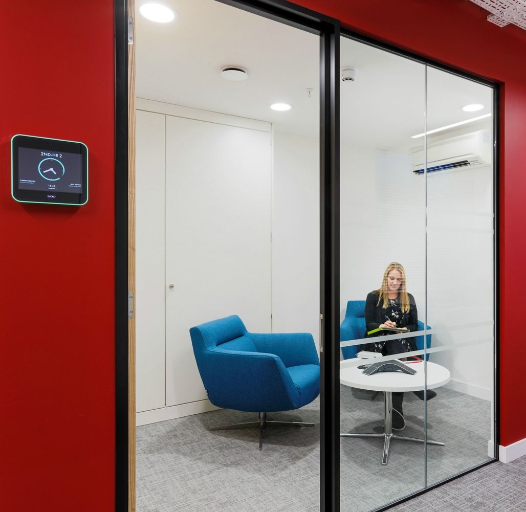 Blockbuster office design for AMC Networks | Office designs, Meeting ...