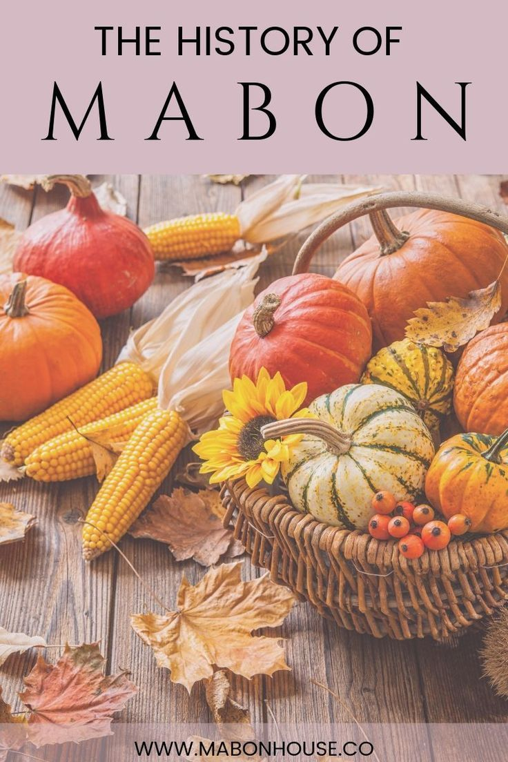 History of the pagan holiday of Mabon | Autumn Equinox | Harvest Festival | Autumn Party #maboncelebration