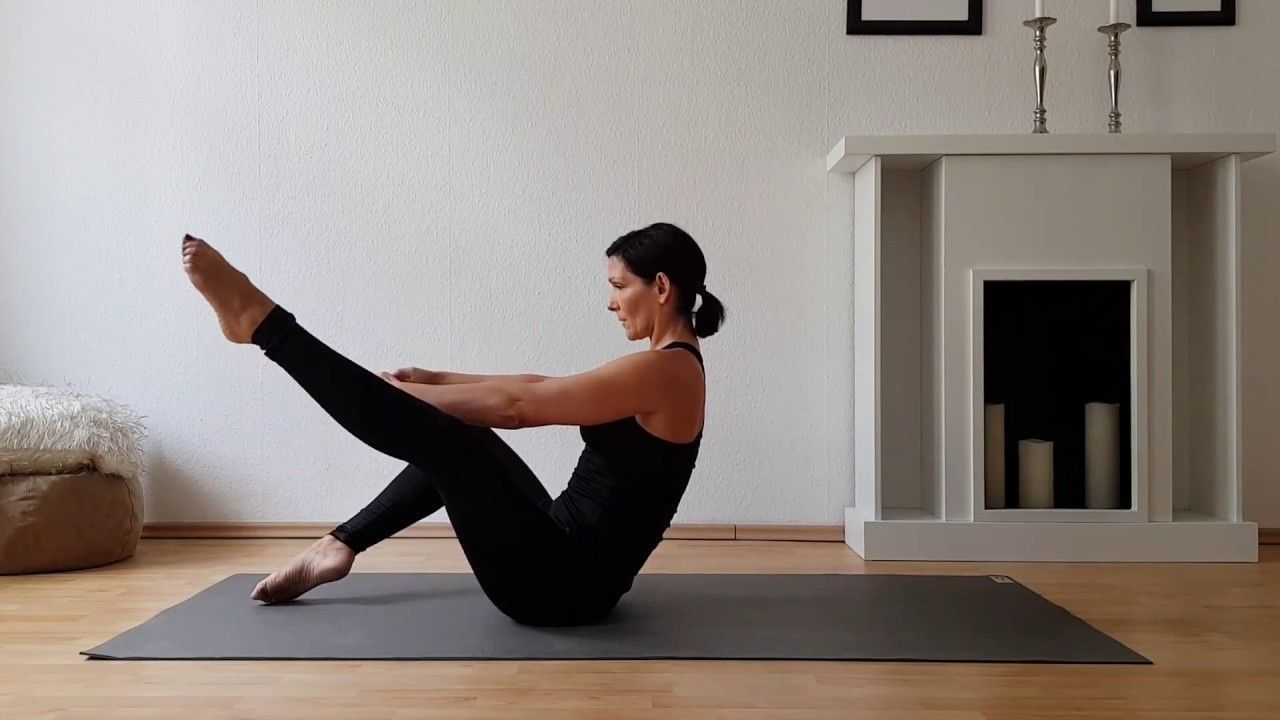 Pilates Inspiration ♥ Pilates Core Workout #pilates #workout #fitness #fitnessmotivation #rückenschm...