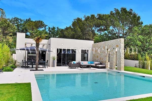 Location d\u0027une villa de #vacances contemporaine avec jacuzzi et - location vacances provence avec piscine