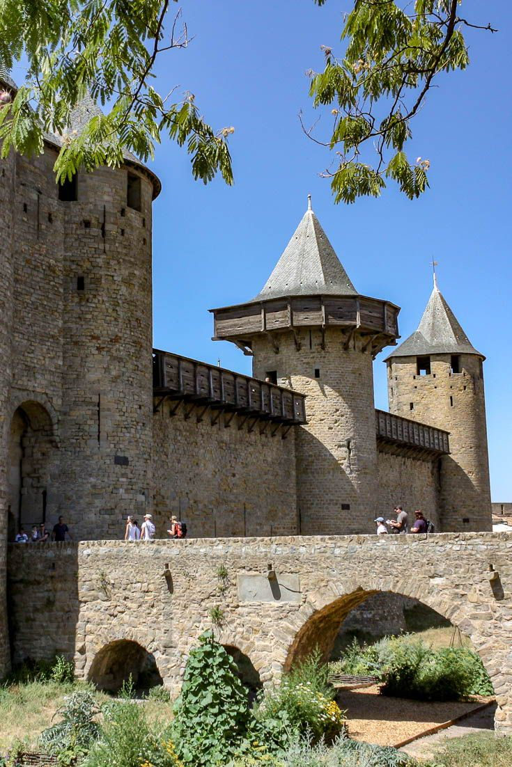 Carcassonne France is Europe's largest fortified city and contains a fascinating castle and interesting legend as to how the city got its name. This is one of the best of Europe castles.. #travel #europe #france #carcassonne #castle #medieval #europetravel