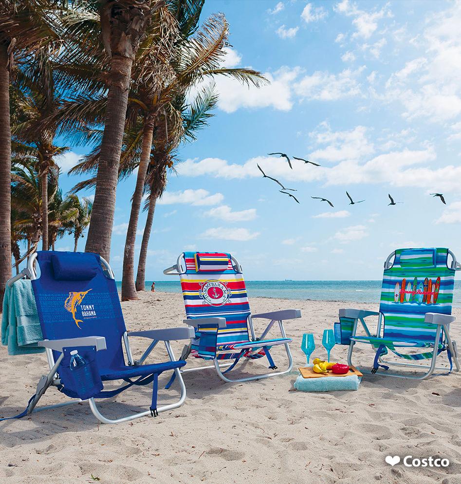 Tommy Bahama silla de playa Costco México Sillas de