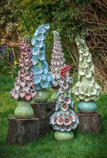 Keramik Garten Kugel Google Suche Garten Keramik Blumen