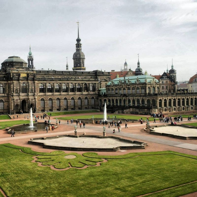 Dresden Der Zwinger Dresden Zwinger Dresden Reiseziele Deutschland