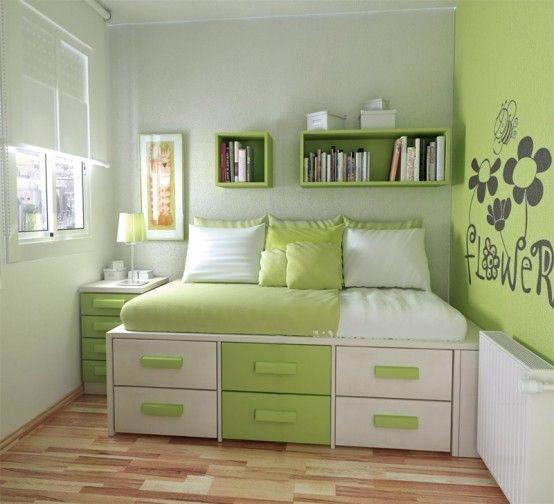 Idées d`aménagement pour votre petite chambre à coucher   Small ...