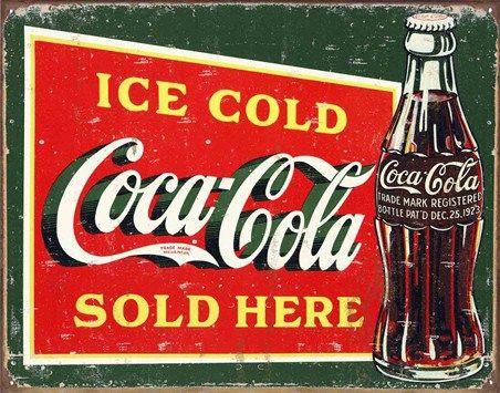 Coca Cola Vintage Zeichen