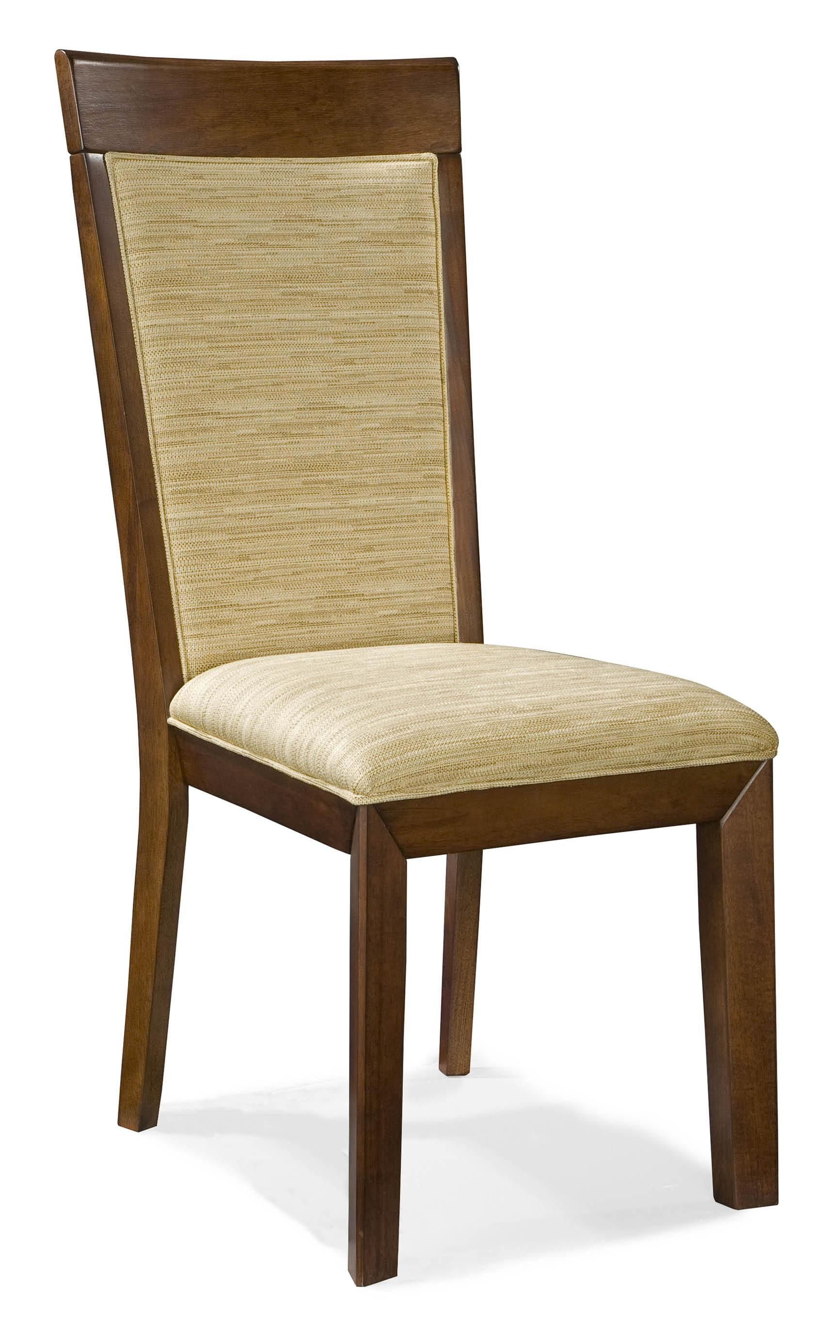 Wellesley rta fabric upholstered side chair by intercon furniture