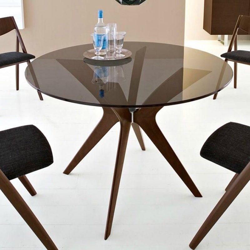 Calligaris Tokyo Wood Round Table Calligaris Furniture Wood