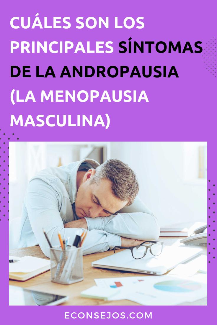 que es la andropausia masculina sintomas
