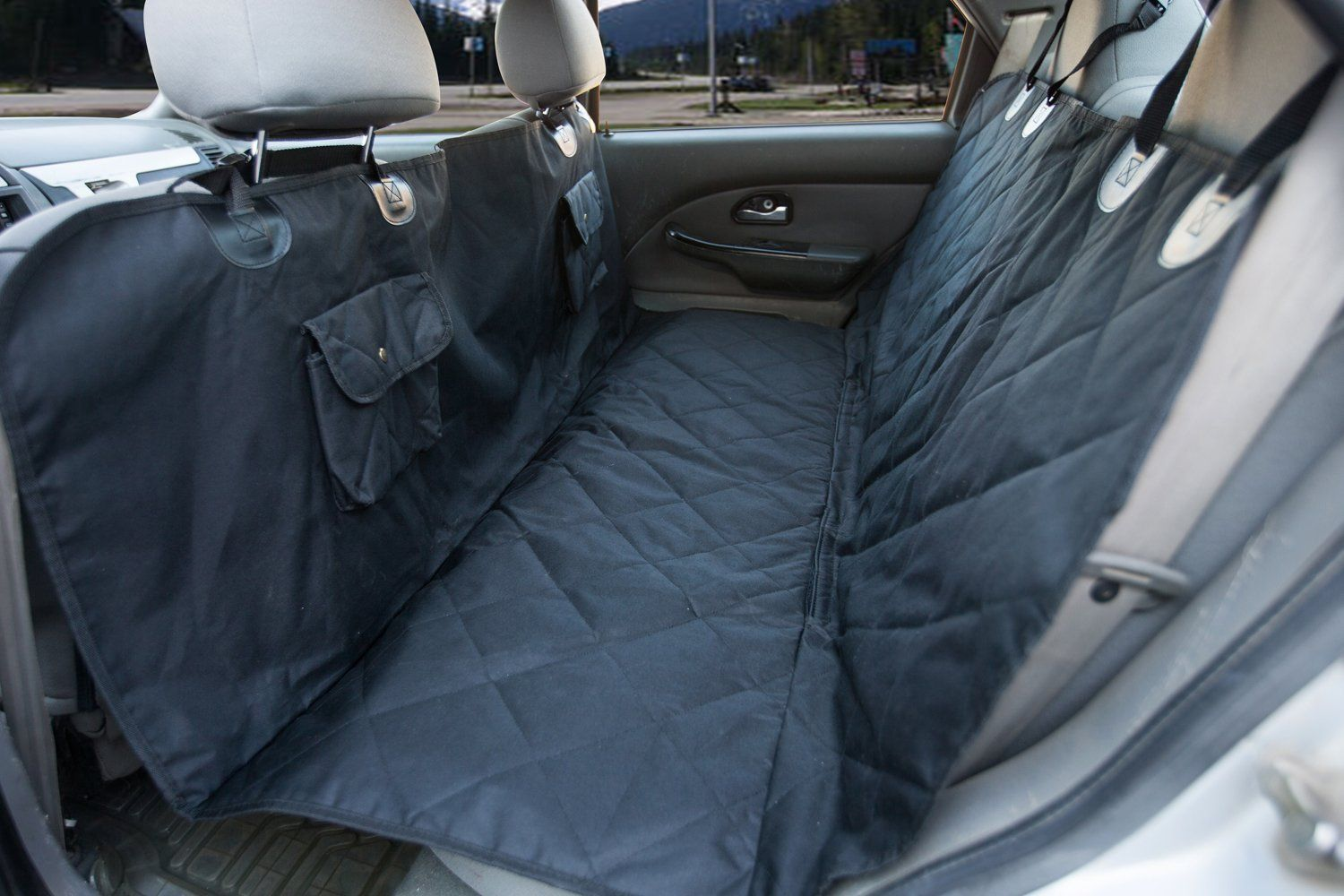 Hammock Dog Car Seat Cover Pet Back Seat Cover Cars