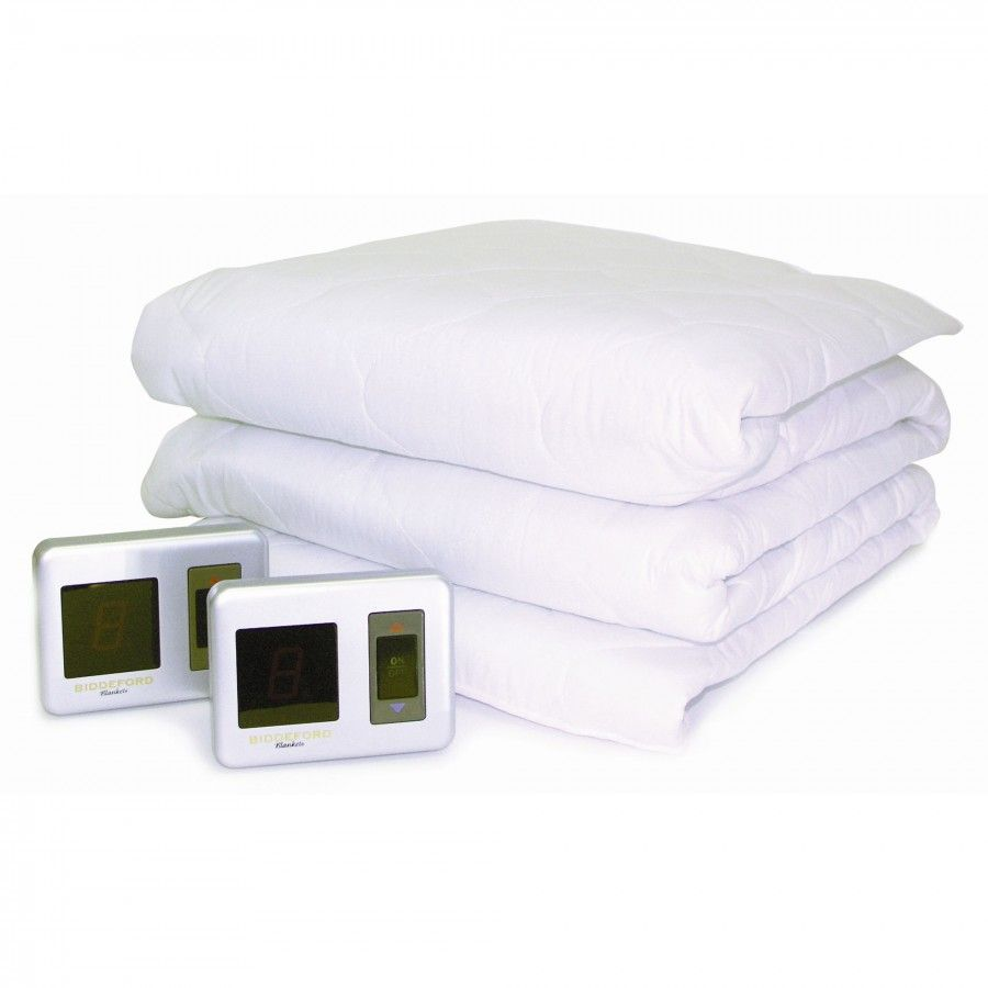 Biddeford Blankets Heated Mattress Pad With Digital Controller