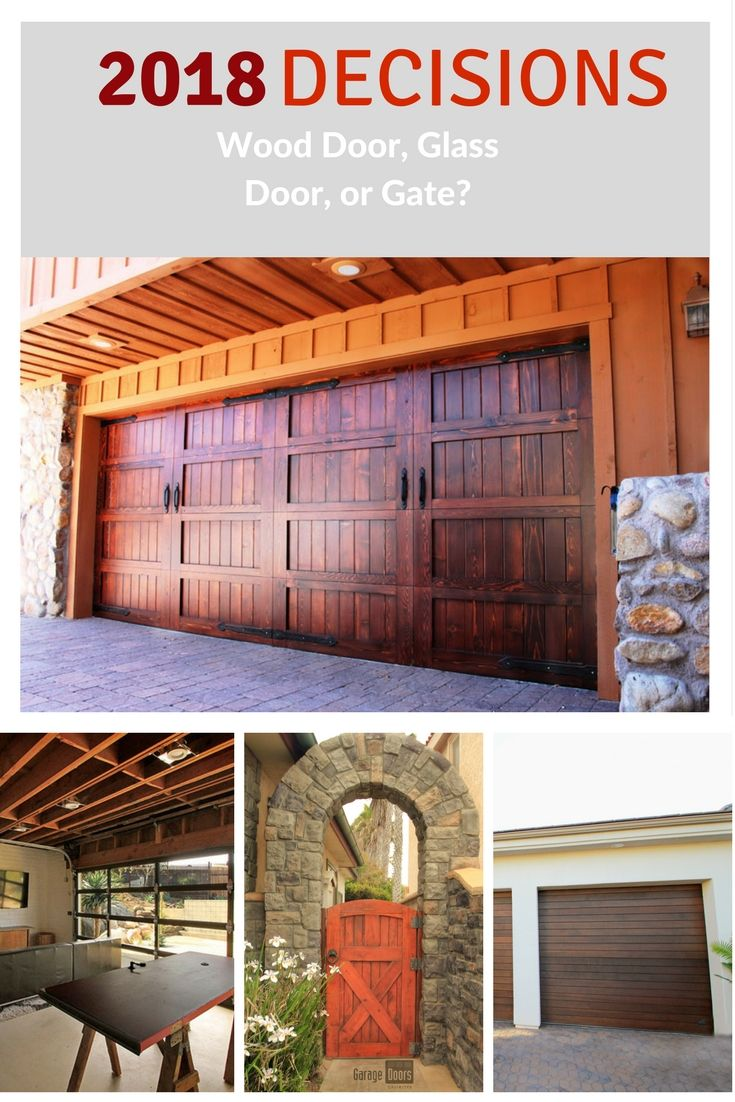 Wood Garage Door Glass Garage Door Or Gate Garage Doors Unlimited