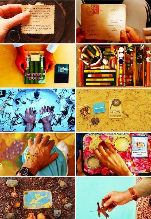 Wes Anderson + Hands.