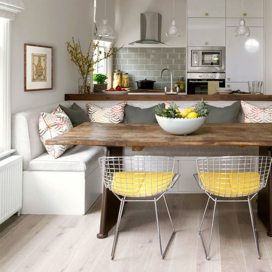 Rereleased For Their 20 Year Anniversary The Lovely Pineapple I Is Resplendent With That Inimi Dining Room Small Minimalist Dining Room Kitchen Design Small