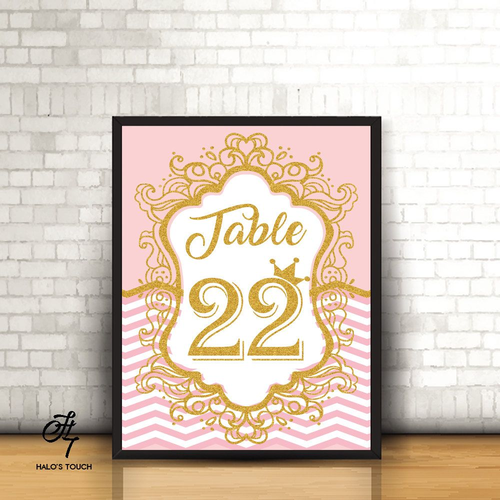 1-10 Royal table number, Navy blue and Gold Wedding Decor, Wedding ...