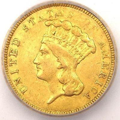 1854-O Three Dollar Indian Gold Piece $3 Coin - ICG XF45 (EF45)  - $4,065 Value! - http://coins.goshoppins.com/us-coins/1854-o-three-dollar-indian-gold-piece-3-coin-icg-xf45-ef45-4065-value/