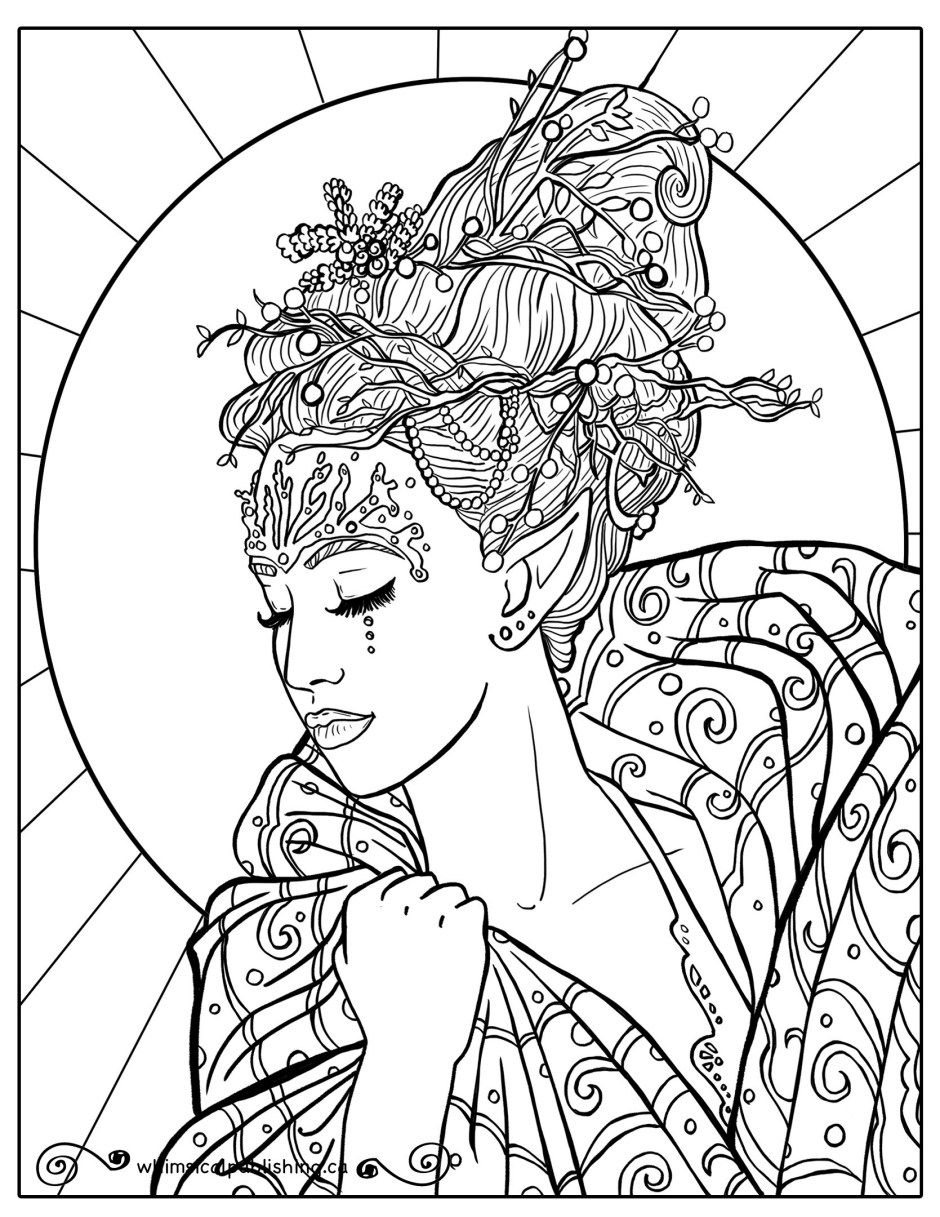 Free Colouring Pages | Free coloring pages, People ...