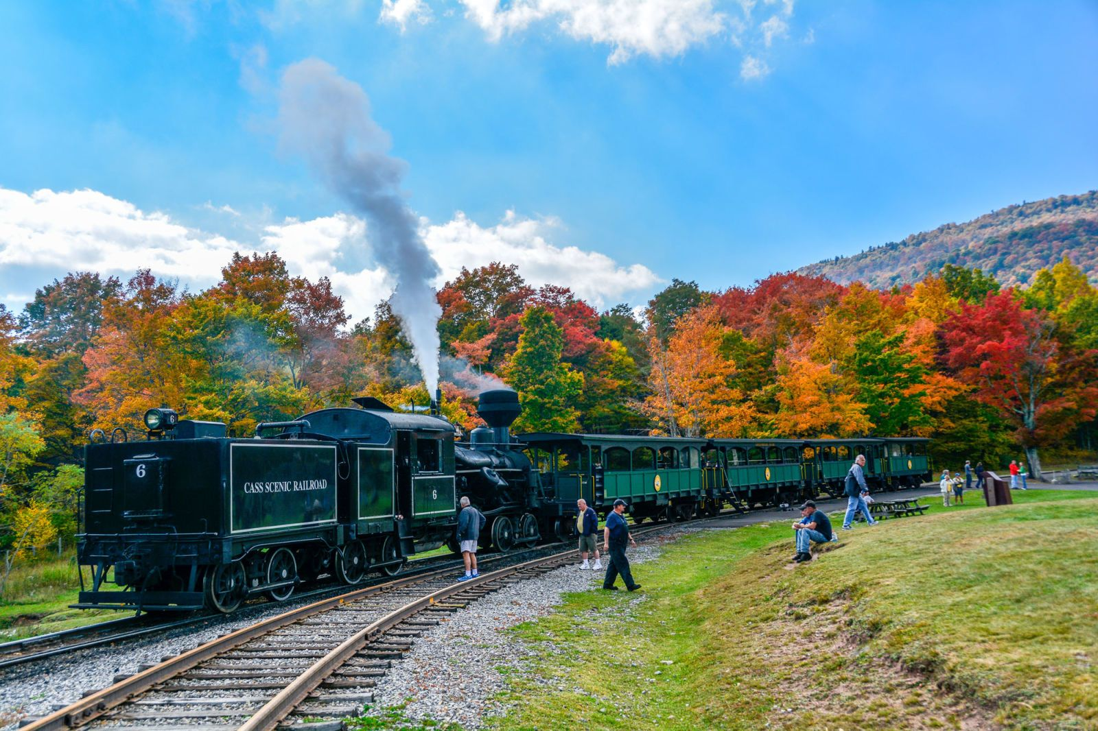 Resultado de imagen de Cass Scenic Railway, Virginia Occidental