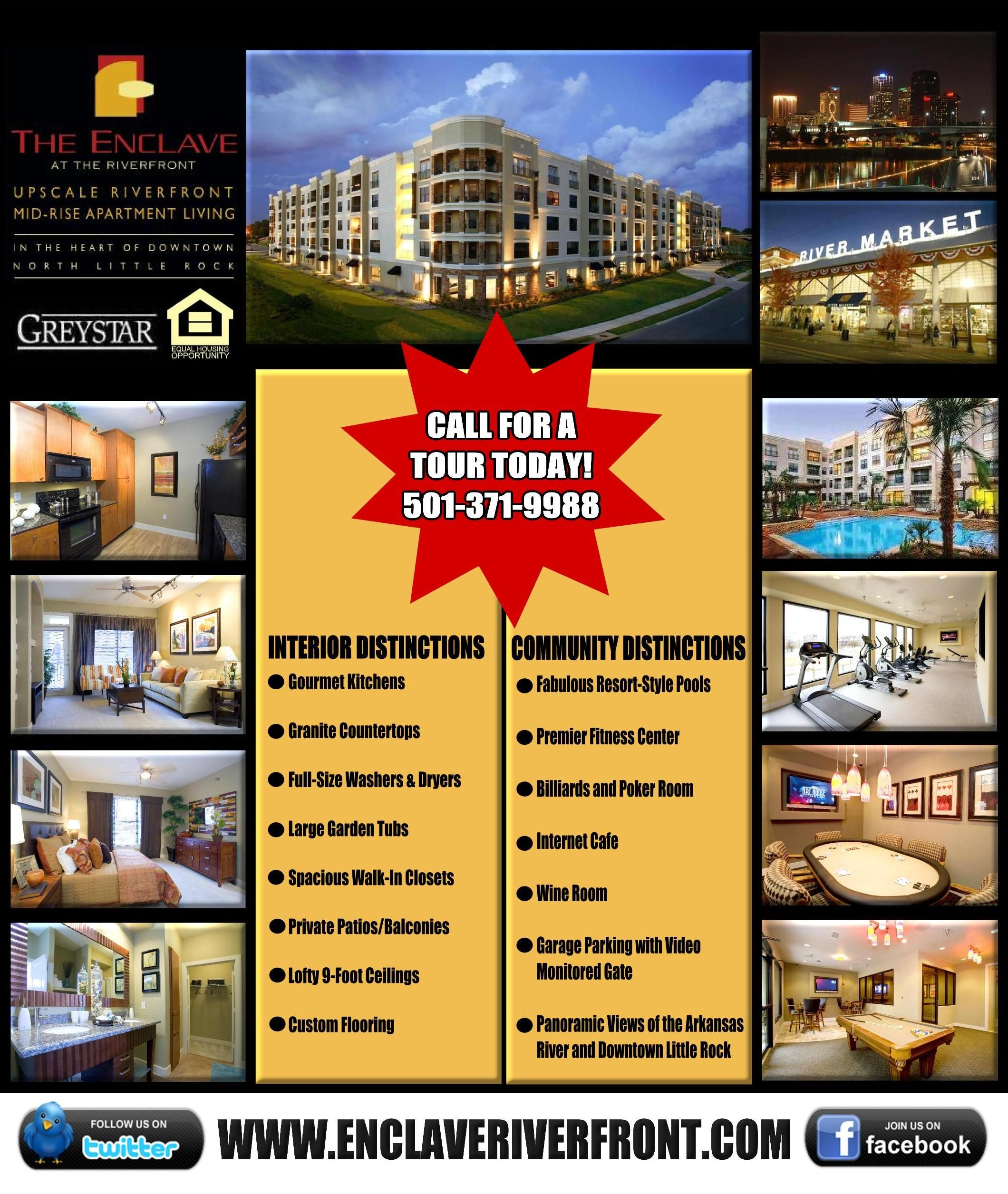 A Flyer I created as an advertisement for our property ~ Layout ...
