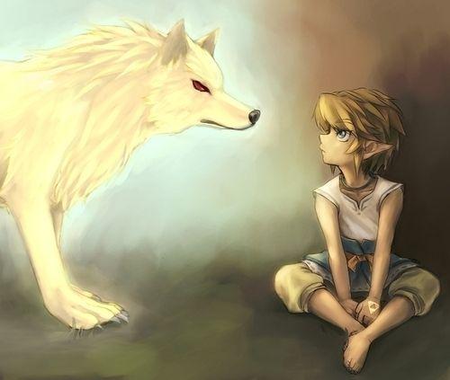 Twilight Princess Gold Wolf And Look At That Little Link Legend Of Zelda Zelda Twilight Princess Twilight Princess