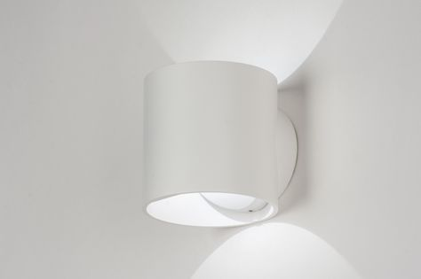 Applique murale 72145: moderne design aluminium blanc luminaire