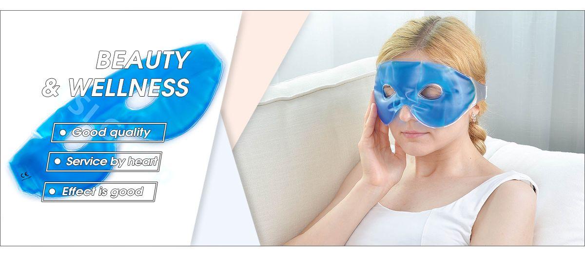 Hot Cold Compress Gel Face Masks Hot Steam Eye Mask Beauty