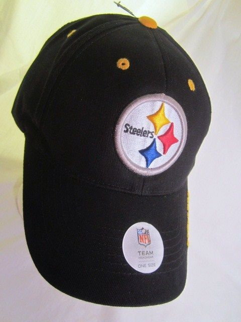 Pittsburgh Steelers Ball Cap NFL Team Apparel Embroidered Logo Hat NWT New  Adult  NFL  Steelersfans  PittsburghSteelers e2dcb934e