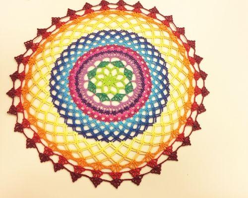 Arte Brasil | Suplá em Crochê Colorido - Cris Vasconcellos