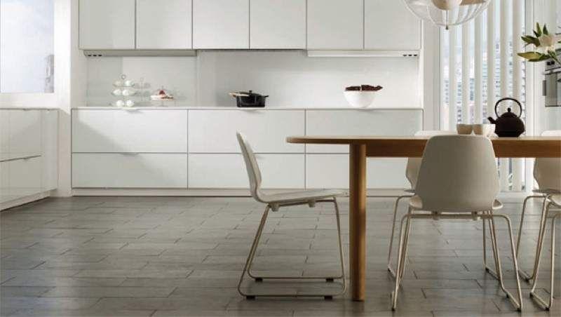 Resultado de imagen de cocina suelo gris Cocinas Pinterest