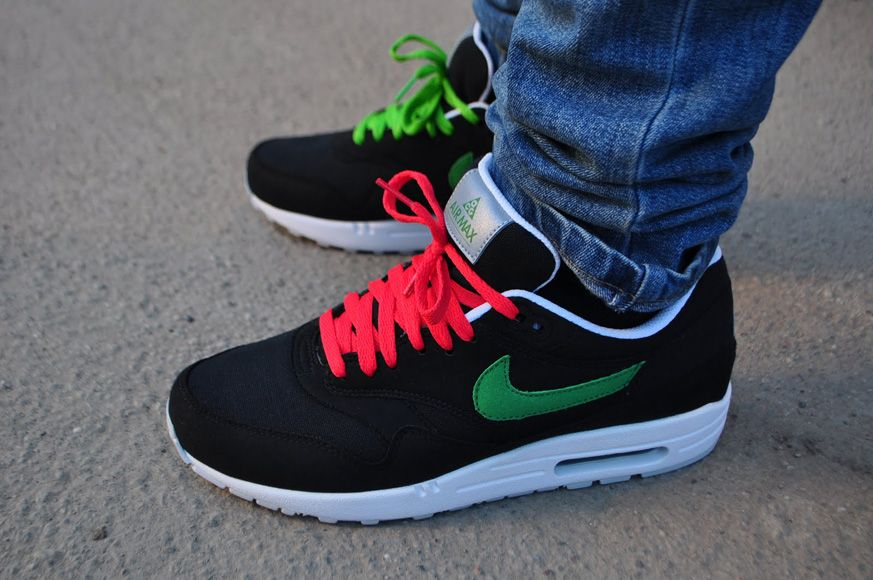 best sneakers f4366 a2ad2 Nike Air Max 1 ACG - Victory Green   Black   NikeAirMax1.com
