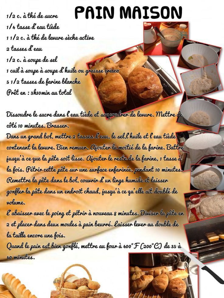 La Fête Du Pain Comment Faire Du Pain Maison French Resources