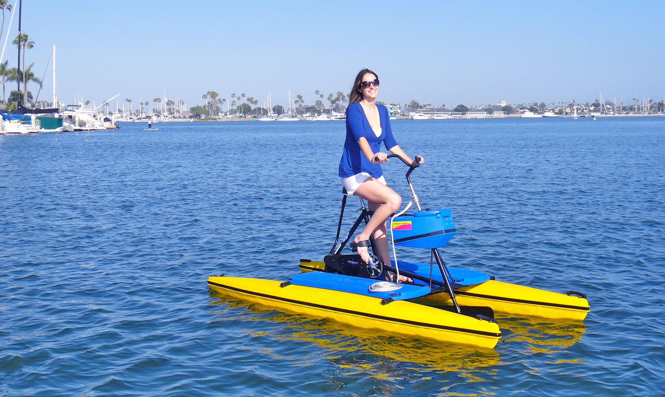 Long beach hydrobikes california pinterest long for Long beach fishing boat