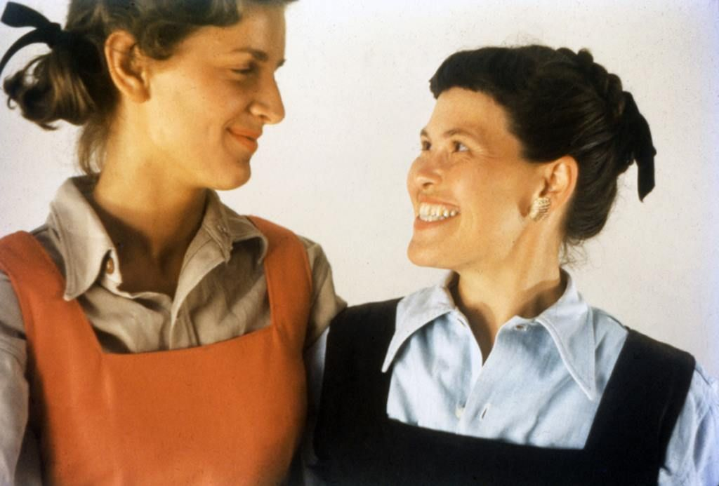 Lucia Eames and Ray Eames courtesy of @eamesdemetrios | Charles & ray  eames, Charles eames, Inspirational people