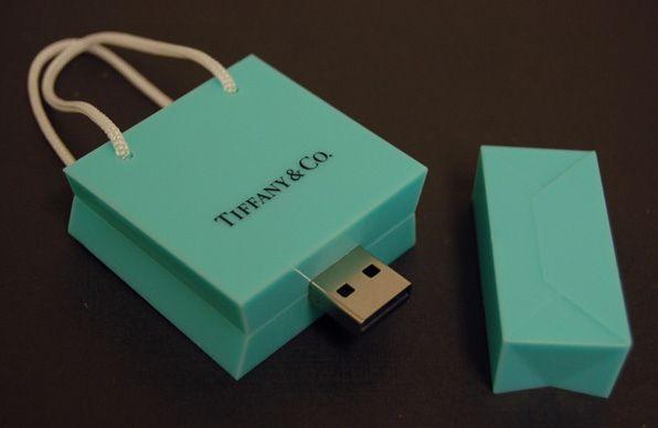 Una Bolsa de Compras USB
