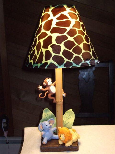 Pin On Jungle Themed Nursery, Jungle Lamp Nursery