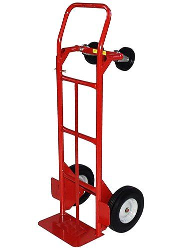 Milwaukee Hand Trucks 40180 Convertible Truck With 10 Inch Puncture Proof Tires And Steel Hub Tires For Sale Trucks For Sale Shop Light Fixtures