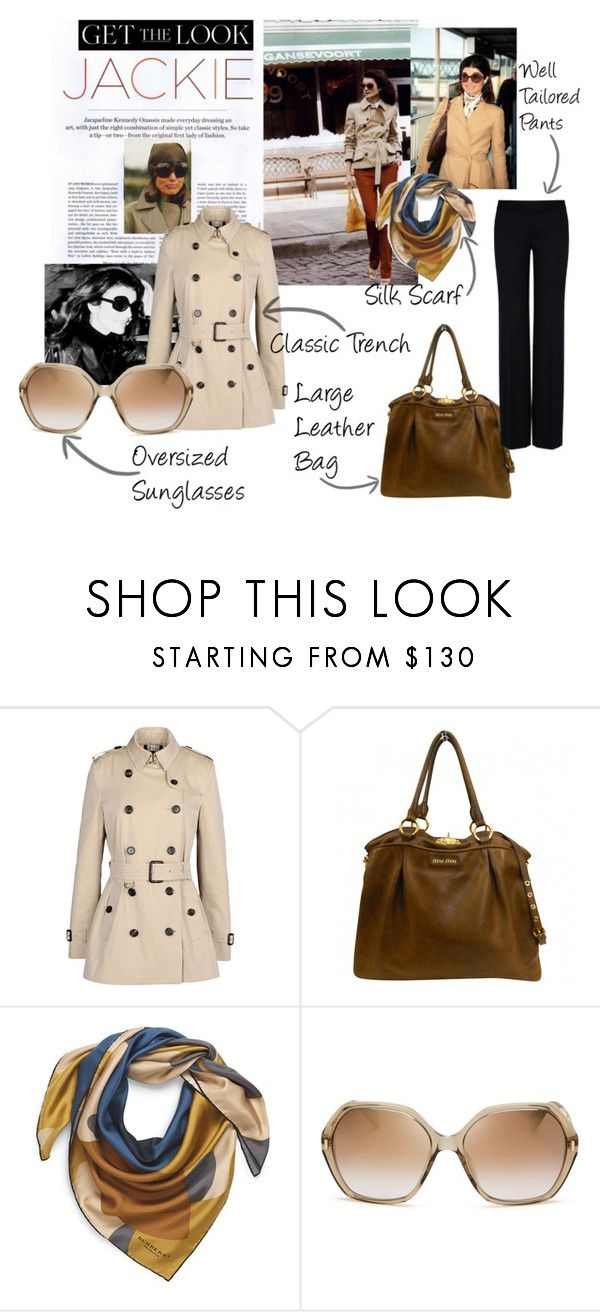 """""""Get the Look Winter: Jackie"""" by nellegrau ❤ liked on Polyvore featuring PEONY, Burberry, Miu Miu, Marc by Marc Jacobs, STELLA McCARTNEY, women's clothing, women's fashion, women, female and woman"""