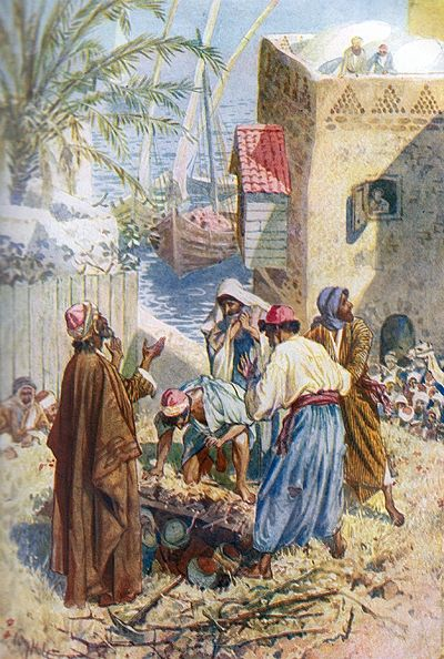 William Brassey Hole The Paralytic Man Is Lowered Through The Roof Http En Wikipedia Org Wiki William Hole Biblical Art Bible Pictures Spiritual Paintings