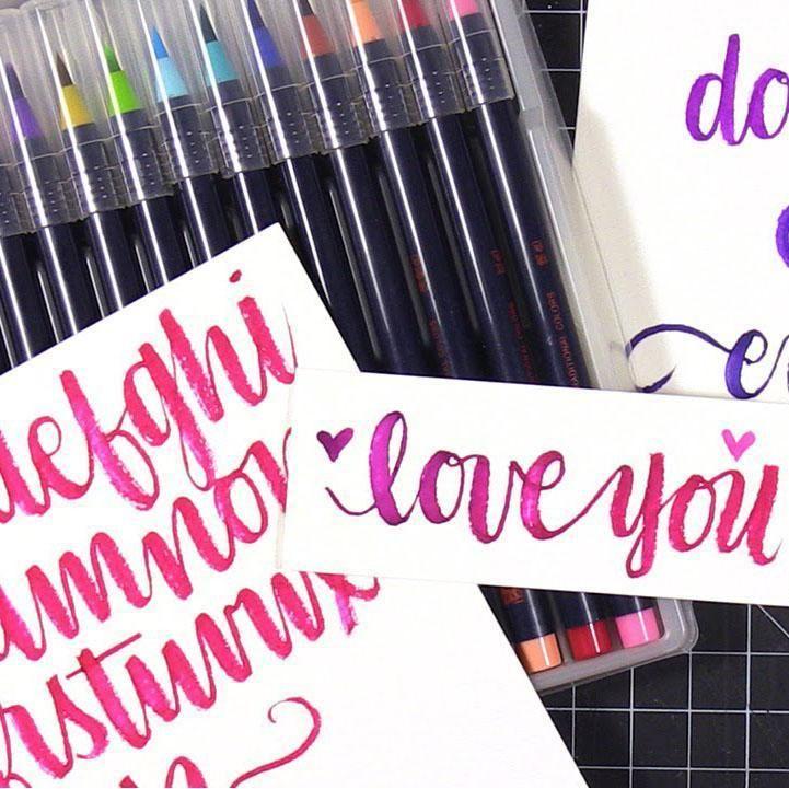 Watercolor Markers #inspireuplift explore Pinterest