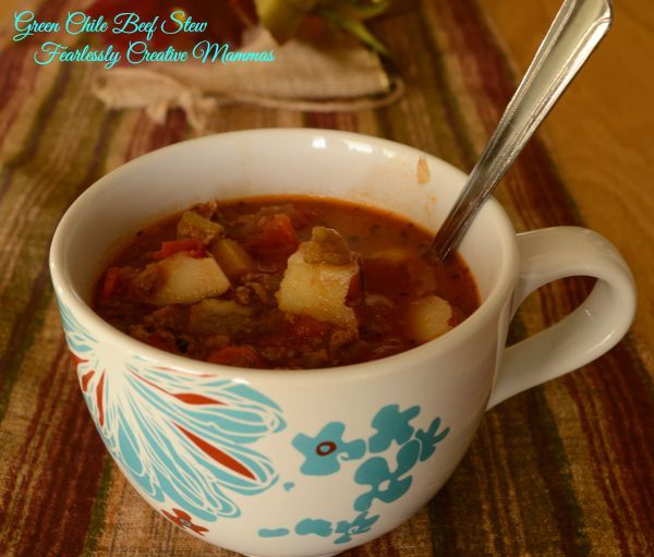 Green Chile Beef Stew