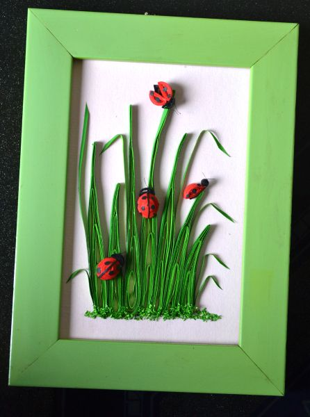 Lady Bug Quilling