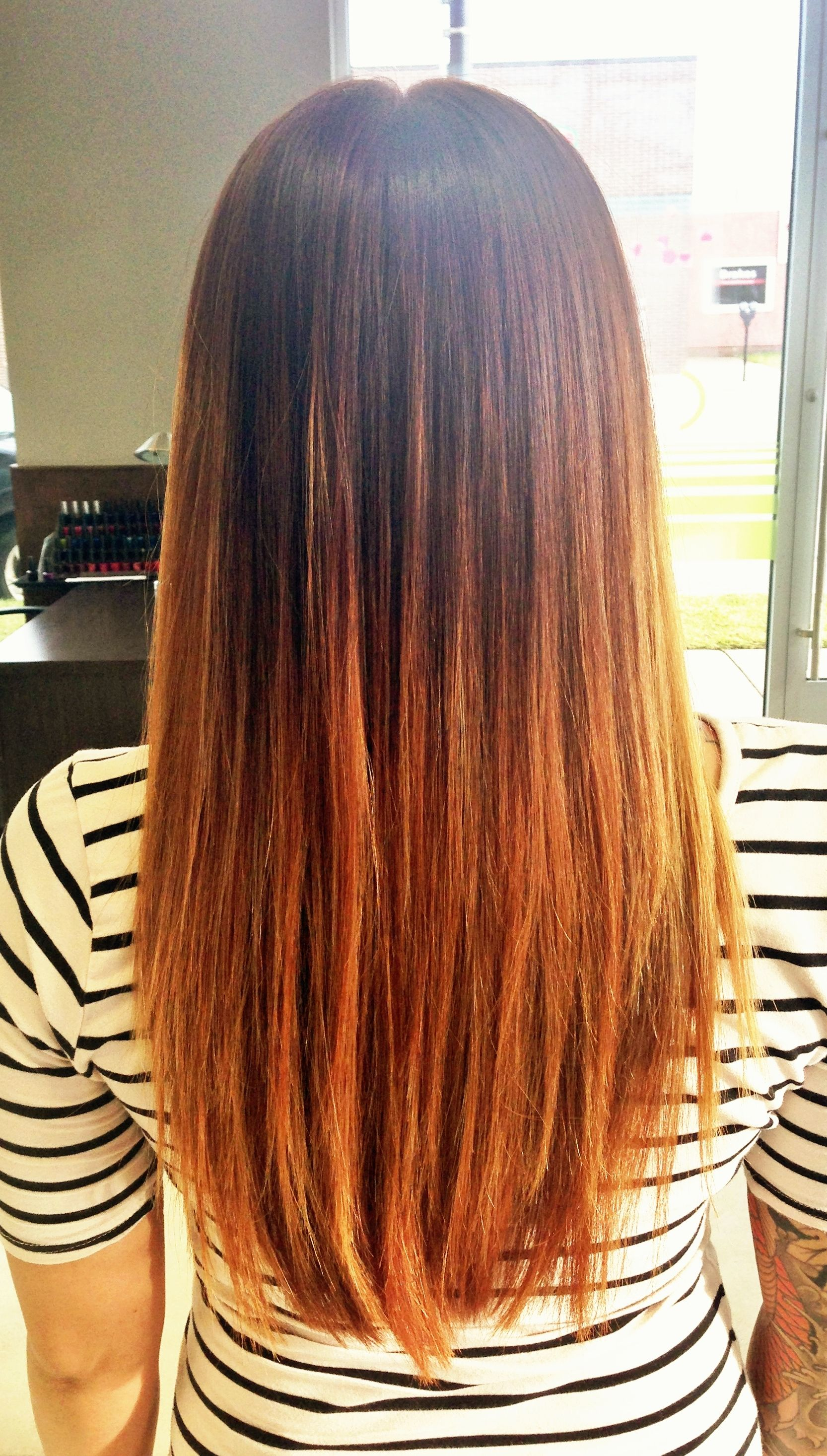 Burnt Orange Ombre Hello Summer By Kirstyn From Bianchi