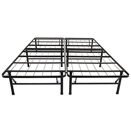 Olee Sleep Metal Platform Foundation Bed Frame Full No Box