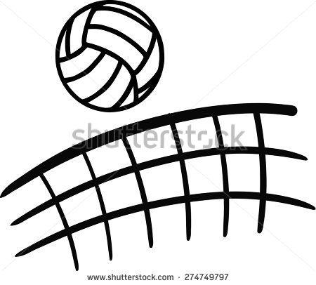 Net Stock Vectors Vector Clip Art Volleyball Volleyball Net Volleyball Drawing